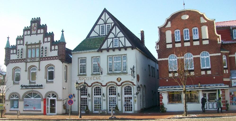 Marktplatz in Tönning